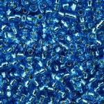 Бисер № 12  67150 (блестящий, голубой насыщенный), 10 г