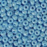 Бисер № 4   68020  (перламутровый, голубой), 10 г
