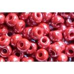 Бисер № 4   98190  (перламутровый, красно-бордовый), 10 г