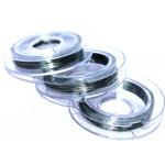 Проволока для бисера (серебро) 0,3 мм (30 м!)