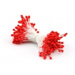 Тычинки красные (двустор.), 85 ниток