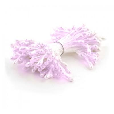 Тычинки нежно-розовые (двустор.), 85 ниток
